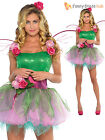 Adult Sexy Woodland Fairy Pixie Tinkerbell Style Ladies Fancy Dress Costume