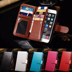 Luxury 9 Card Slot Leather Wallet Case Flip Cover For Iphone 6 4.7inch Tide