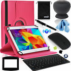 EEEKit Office Kit for 10 Inch Tablet Case Cover+Bluetooth Keyboard/Mouse/Speaker