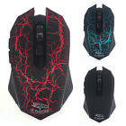 1PC 3200 DPI Wireless Optical Silent Gaming Mouse For PC Laptop Gamer Stylish