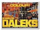 Dr Who And The Daleks Sci-fi Movie Film Gordon Flemyng Milton Subotsky Poster