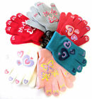 Girls Magic Gloves with Rubber Prints GL108