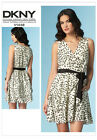 NEW Summer 2015 DKNY Vogue American Designer 1448 Dress Sewing Pattern V1448