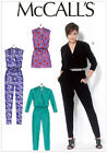 McCalls 7099 Jumpsuit Trouser Suit Romper Playsuit Pantsuit Sewing Pattern M7099