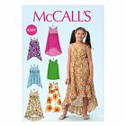 McCalls 6948 EASY Girls Sleeveless Straps Dress Sewing Pattern 3-14 Years M6948