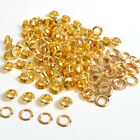 Gold 100 Sets 4/5/6/8/10mm Eyelets w/washer Grommets Scrapbooking Card Making