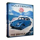 Old advert of volkswagen beetle Canvas Art Cheap Wall Print Home Interior