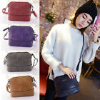 Women Scrub Shoulder Bag Handbag PU Leather Purse Satchel Messenger Bag