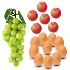 Decorative Fake Fruit Vegetable Artificial Grapes Apples Egg Realistic Hot