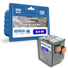 COMPATIBLE NEOPOST 300673 FRANKING MACHINE CARTRIDGE WITH BLUE INK