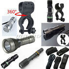 T6/Q5 CREE XM-L LED Flashlight Torch Lamp Light Zoomable ZOOM Tactical New