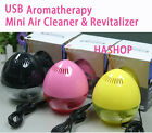 HAShop USB AROMATHERAPY MINI THE ANION CAR  AIR CLEANER & REVITALIZER