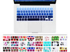 Gradient Blue Keyboard Silicone Cover Skin Protector F Macbook Air 11 11.6 Inch