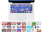 Flower Silicone Keyboard Cover Skin Protector For Macbook Air Pro Retina 13 15