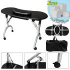 Portable Foldable Manicure Nail Art Table Desk Station Hand Drawer Cushion Bag