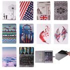 "Painting Leather Flip Smart Case Stand Cover for Samsung Galaxy Tab 4 10.1"" T530"