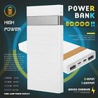 50000mAh Portable Cell Phone Pack Backup External Battery Power Bank Charger US