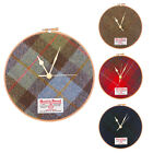 "Marchbrae 8"" Harris Tweed Clock"