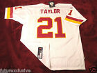 #21 SEAN TAYLOR WASHINGTON REDSKINS WHITE NFL SEWN JERSEY - CHOOSE SIZE