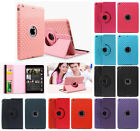 Leather 360 Degree Rotating Smart Stand Case Cover For Apple iPad Mini 1 2 3 Air