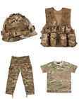 Kids Army BTP Camo Fancy Dress Children's Soldier Outfit Uniform Play Set 2
