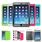 Hybrid Impact Resistant Dual Layer Rugged Cover Case For iPad Mini 3/Mini 2/1
