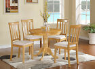 Antique 5 Pieces kitchen nook dining set-small kitchen table and 4 chairs