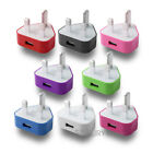 Mains USB charger plug for Apple iPhone 6 PLUS/iPhone 6/ 5S 5C 5G 5 4 4G 4S