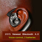 HIFI Wireless Bluetooth 4.0 In ear Headphone Stereo Headset Voice-activat