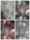 Wow Designer Feature Wallpaper Black Grey Silver Cream Teal Red Leaf Type New