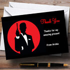James Bond Special Agent Personalised Party Thank You Cards £70.99 GBP