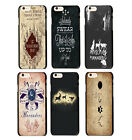 Harry Potter The Marauders Map Hogwarts Pattern Case Cover For iphone 4 4S