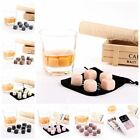 Lots 9pcs Reusable Stone Ice Rocks Cubes Wine Whiskey Drink Chillers-Many colors