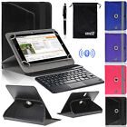 EEEKit for 8 Inch Tablet,Wireless Bluetooth Keyboard W / Touchpad+Cover Case