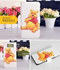 Funny Cartoon Winnie the Pooh Tigger PU Leather Flip Case Cover For Samsung R 4