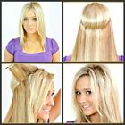Invisible Remy Hair Extension Wire Headband Crown Extensions Full Head No Clips