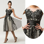 Formal Short Evening Ball Gown Party Prom Bridesmaid Dress Stock Size 6/8/10/12/