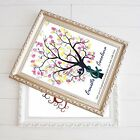Gift Wedding Fingerprint Tree Guest Book Signature Thumbprint Party Ink pad Kit