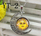New Solar deity Silver Plated CHAIN NECKLACE Alloy & Pendants