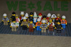 Random Lot Of 10 Smart Men People Minifigs Building Toy Grab Party Bag Kid Gifts