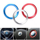 Steering Wheel Center Logo Decoration Ring For BMW 1 3 4 5 7 Series M3 GT5 X5