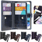 Sapphire Blue Wallet Case for Samsung Galaxy Note Edge N915 Note 4 Note 3 Note 2