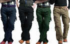 Mens Combat Cargo Work Trousers Pants Military Jeans Collection