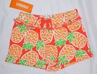 NWT Gymboree 12-18M 3T 4T orange pineapple SHORTS knit basic Butterfly Catcher
