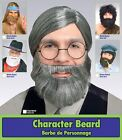 Short Character Beard Costume Accessory