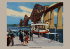 Forth Bridge, Scotland - repro vintage railway travel poster in 4 sizes