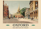 Oxford -  repro vintage railway travel poster in 4 sizes