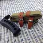 NEW MOSIN NAGANT RUBBER BUTT PAD & GREEN SLING BELT LEATHER M44 91/30