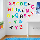 Nursery Alphabet Letters Writing Art Wall Stickers Kids Childrens Removable 209