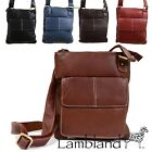 Ladies High Quality Leather Cross Body / Messenger Bag / Black, Navy, Brown, Red